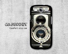 Vintage Camera Samsung Galaxy S3 Case, Samsung Galaxy SIII Case, Samsung Galaxy S3 Cover, Hard Protective Case