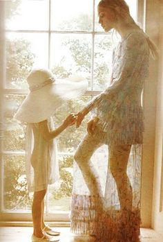 Sasha Pivovarova, Vogue Paris shot by photographer Mikael Jansson.
