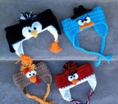 Earflap Feathered Fowl Headband Pack $4.99