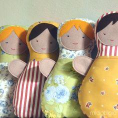 Free Tutorial & doll pattern.