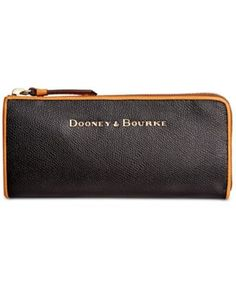 Dooney & Bourke Claremont Zip Clutch | Black macys.com