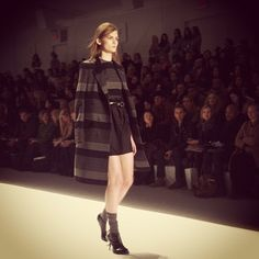 "@anelisamangcu Tweeted: ""Loved the graphic grey and black horizontal stripes at @richardchainy. #nyfw"""