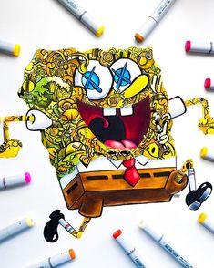 Les Doodle, Cute Doodle Art, Doodle Art Designs, Doodle Art Drawing, Cute Doodles, Cool Art Drawings, Girl Drawing Images, Vexx Art, Figure Drawing Tutorial