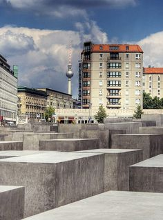 The Memorial to the Murdered Jews of Europe (German: Denkmal für die ermordeten Juden Europas), also known as the Holocaust Memorial (German: Holocaust-Mahnmal), is a memorial in Berlin to the Jewish victims of the Holocaust, designed by architect Pe Travel in Europe