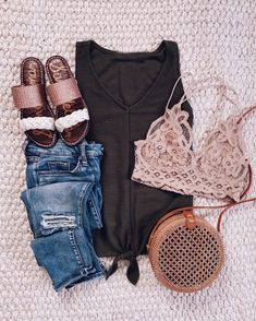 Best Casual Summer Outfits Part 10 Stylish Summer Outfits, Summer Fashion Outfits, Spring Summer Fashion, Spring Outfits, Casual Outfits, Short Outfits, Modest Fashion, Winter Fashion, Vestidos Chiffon