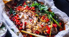 Spicy Paper Bag Chilli Snapper!