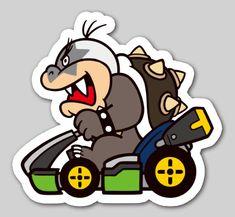 Nintendo Badge Arcade - Morton