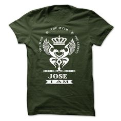 Nice T-shirts  Jose . (3Tshirts)  Design Description: The man . the myth. The legend  ADD TO CARD OR PAYPAL AND BUY NOW  If you don't utterly love this design, you can SEARCH your favourite one via the usage of search bar on the header.... -  #shirts - http://tshirttshirttshirts.com/automotive/best-price-jose-3tshirts.html