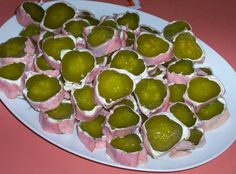 Pickle Rolls... so easy.