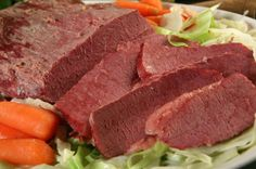Slainte! (Cheers!) Fortunately, corned beef and cabbage is an easy recipe to prepare, whether you do it in your Crock Pot / slow cooker, in the oven or on the stove top, so you won't need a four leaf clover or the luck of the Irish to pull off a fantastic St.