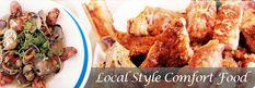Side Street Inn (Honolulu, Oahu) ...fried pork chops, spicy chicken and many great local grindz!