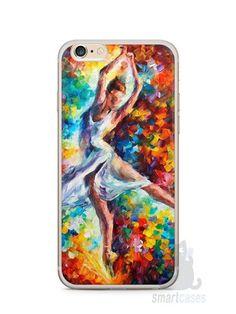 Capa Iphone 6/S Plus Bailarina Pintura