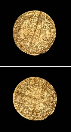 English Hammered Gold, First Coinage Sovereign of King Henry VIII, 1509.