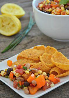 Mountain Mama Caviar with Black Beans & Black Eyed Peas www.mountainmamacooks.com