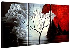 Home Art - Abstract Art Giclee Canvas Prints Modern Art Framed Canvas Wall Art for Home Decor Perfect 3 Panels Wall Decorations Abstract Paintings for Living Room Bedroom Dining Room Bathroom Office - http://centophobe.com/home-art-abstract-art-giclee-canvas-prints-modern-art-framed-canvas-wall-art-for-home-decor-perfect-3-panels-wall-decorations-abstract-paintings-for-living-room-bedroom-dining-room-bathroom-office/