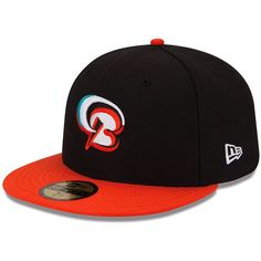 Bowie Baysox New Era Authentic Collection On Field 59FIFTY Fitted Hat - Black - $29.99