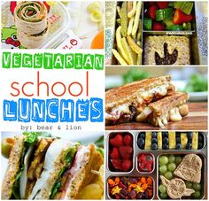 fun vegetarian lunch ideas!