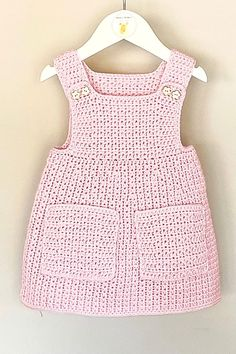 This crochet pattern is suitable for beginners and is part of a collection of modern crochet patterns for babies and children.. available for instant download today #crochet #crochetbaby #crochetpattern #moderncrochet #babycrochet #crochetforbaby Modern Crochet Patterns, Crochet Patterns For Beginners, Baby Patterns, Baby Girl Crochet, Cute Baby Clothes, Baby Girl Newborn, Crochet Clothes, Baby Dress, Cute Outfits