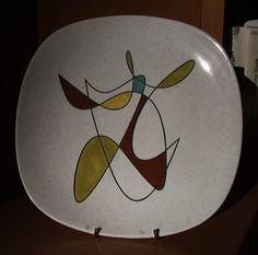 Vintage Metlox Poppytrail Dinner Plate in by PrettyLittlePickers