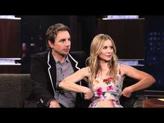 Kristen Bell & Dax Shepard on Jimmy Kimmel Live PART 3
