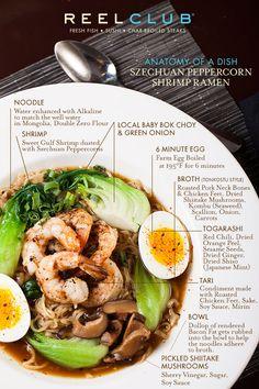 Anatomy of a Dish: Szechuan Peppercorn Shrimp Ramen