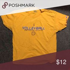 ASU Shirt Arizona State Volleyball shirt Champion Shirts Tees - Short Sleeve
