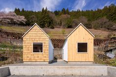 Cedar House, Pine House / S PLUS ONE architecture | ArchDaily