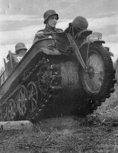NSU Kettenkrad of the Wehrmacht 3 | World War Photos