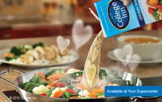 Click for College Inn® Broth Recipes: Add rich, bold flavor to sauces, sides, soups, and more with College Inn Broth.