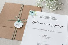 Convite Floral Boho