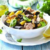 Salada de Macarrão Integral com Atum e Legumes