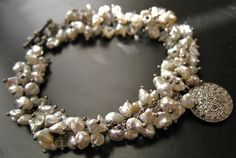 pearls and diamonds
