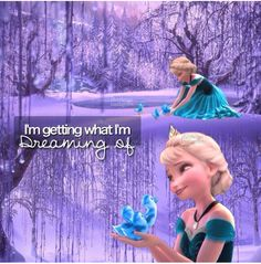 Elsa and Anna swap places and.... boom frozen ducklings!