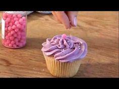4 técnicas de decoração de cupcakes