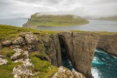 Sørvágsvatn (Lake) - Faroe Islands, Denmark