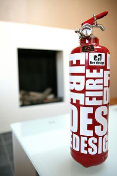 Extintores de diseño