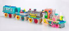Tupperware Train - Made from all Tupperware Products!!! Pretty Cool!!!