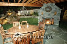 firepits, patio covers