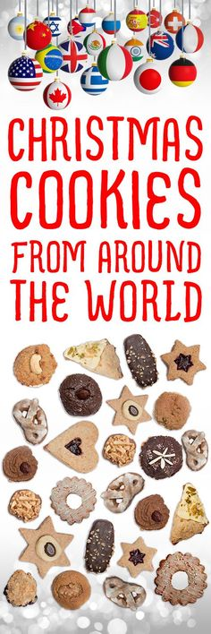 Over 500 of the very best Christmas cookie recipes from countries around the world, organized by country of origin!