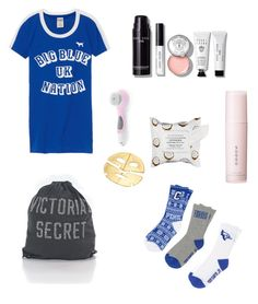 """""""Lazy Day😛"""" by kayla-2003 on Polyvore featuring Victoria's Secret, Conair, Sephora Collection, Bobbi Brown Cosmetics and SUQQU"""
