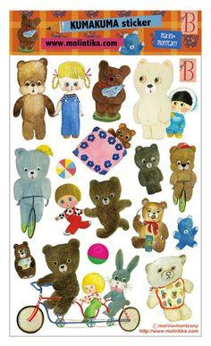 Kitsch, Moleskine Sketchbook, Nostalgic Images, Butterfly Quilt, Art Folder, Vintage Teddy Bears, Sketchbook Inspiration, Vintage Dolls, Cute Stickers