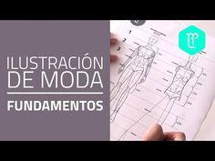 Cómo dibujar figurines de moda desde cero (Proporciones) Curso de dibujo - YouTube