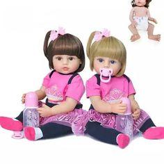 Reborn Baby Girl, Baby Girl Dolls, Reborn Babies, Silicone Dolls, Vinyl Dolls, Bath Toys, Christmas Gifts For Kids, Girl Body, Baby Size