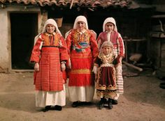 A collection of awesome color photographs of Balkans in 1913, taken by photographer Albert Kahn.