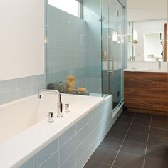 Bathroom - modern - bathroom - minneapolis - CITYDESKSTUDIO, Inc.