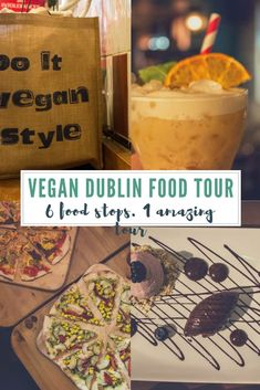 Headed to #Dublin? Check out this amazing #vegan food tour while you're there! It shouldn't be missed despite your normal eating habits. #Ireland #vegantravel #veganfood