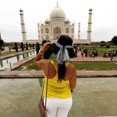 #mytajmemory #tbt do lugar mais exótico e curioso que já conheci. Saudade principalmente da comida!  #india #tajmahal #travel by amfmenezes #IncredibleIndia #tajmahal