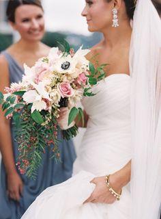 Bridal Bouquet: @april_s_mason  Photo: @joeykennedy  Wedding Planner: Soiree by Souleret (www.soireebysouleret.com)