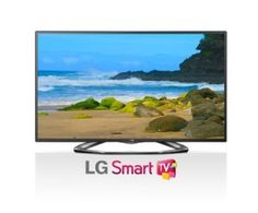 LG Electronics 50LA6200 50-Inch Cinema 3D 1080p 120Hz LED-LCD HDTV with Smart TV and Four Pairs of 3D Glasses (2013 Model)