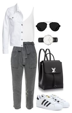 """97"" by desireair on Polyvore featuring Topshop, Filippa K, adidas, 3.1 Phillip Lim and Daniel Wellington"